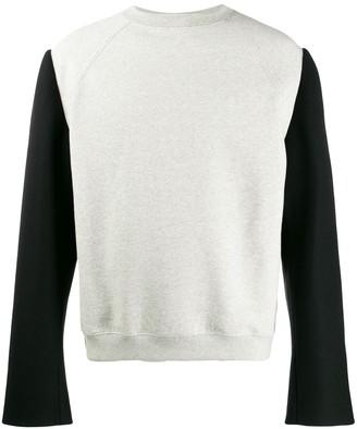 Maison Margiela Contrast Sleeve Sweatshirt