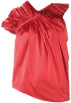 Marques Almeida Marques'almeida - ruffle one-shoulder top - women - Silk - XS