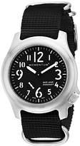 Momentum Men's 1M-SP76B7B Base Layer Analog Display Japanese Quartz Black Watch
