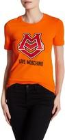Love Moschino Sparkle Logo Graphic Tee