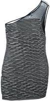 Jay Ahr asymmetric panel dress