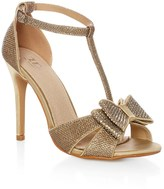 True Decadence Glitter Bow Sandal