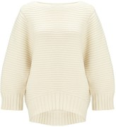 Chalayan Ivory Cup Sleeve Jumper