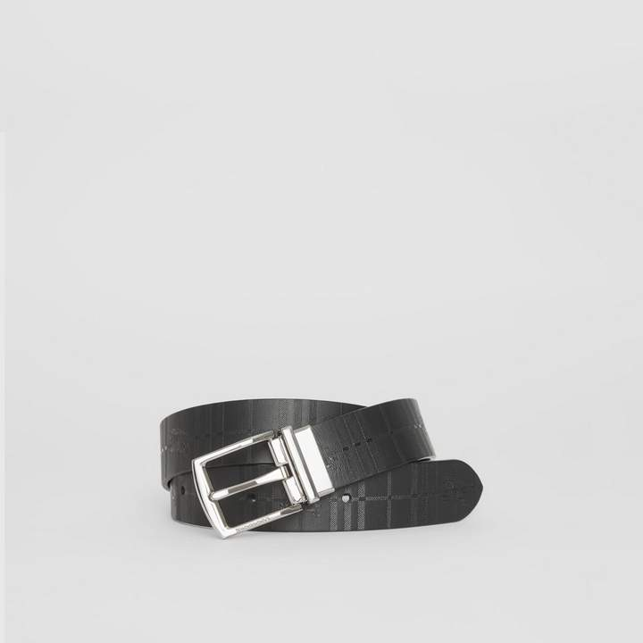 050918ae5bed Burberry Men s Leather Belt - ShopStyle