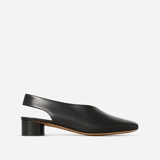 Everlane The Square Toe Slingback