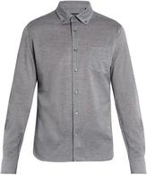 Ermenegildo Zegna Button-down collar cotton-jersey shirt