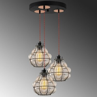 Williston Forge Siford 8 Light Unique Statement Geometric Chandelier Shopstyle