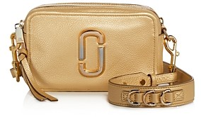 Marc Jacobs Softshot Pearlized Leather Crossbody