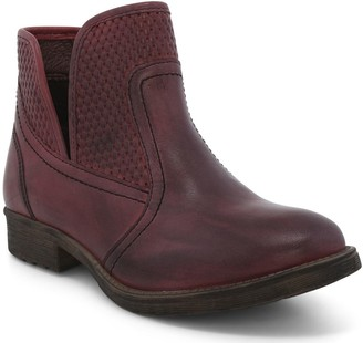 ROAN Western Leather Booties - Gossip