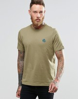 Paul Smith PS by T-Shirt With PS Logo In Khaki Regular Fit