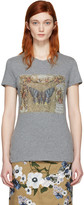 Valentino Grey Vintage Butterfly T-shirt