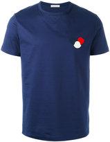 Moncler logo plaque T-shirt - men - Cotton - S