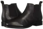 Frye Corey Chelsea (Black Goat Dip-Dye) Men's Shoes