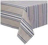 Sur La Table Blue and White Striped Teflon Tablecloth