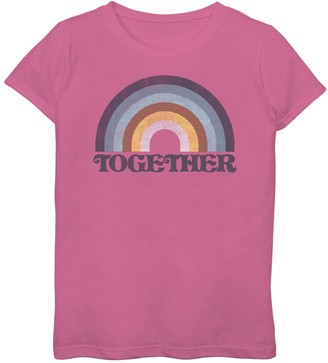 Fifth Sun Girls 7-16 Come Together Graphic Tee