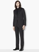 John Varvatos Hampton Micro Check Suit