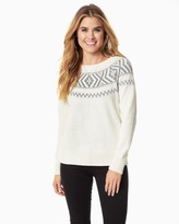 Charming charlie Fair Isle Flair Sweater