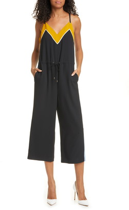 Ted Baker Darvva Contrast Detail Sleeveless Jumpsuit