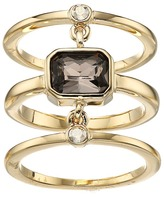 Cole Haan Three-Piece Stone Ring