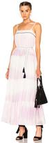 Lemlem Berhan Sun Dress in Stripes,Ombre & Tie Dye,Pink,Purple.