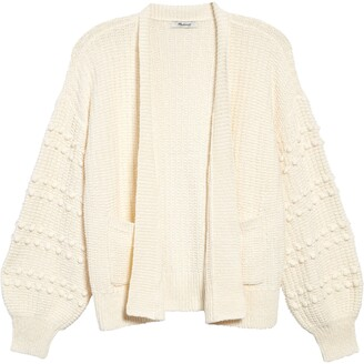 Madewell Bobble Cardigan Sweater
