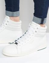 Ted Baker Mykka Hi Top Leather Sneakers