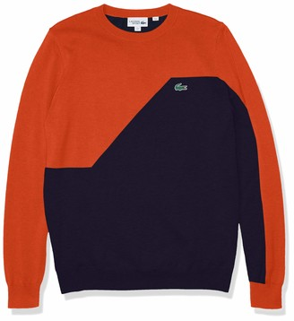 Lacoste Men's Sport Colorblock Crewneck Golf Sweater