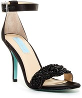 Betsey Johnson Gina Embellished Stiletto Sandal