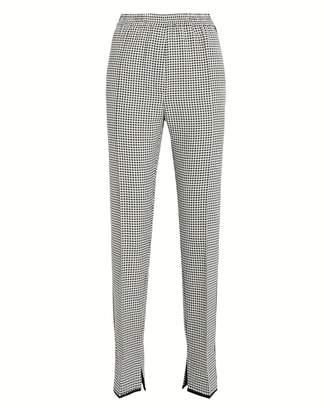 Golden Goose Minori Wool-Cotton Checked Trousers