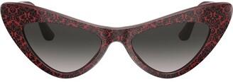 Dolce & Gabbana Eyewear Damask Print Sunglasses