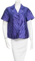 Moschino Textured Short Sleeve Jacket