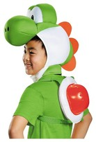 Super Mario Brothers Yoshi Hood and Shell Kid's Costume Kit - One Size Fits Most
