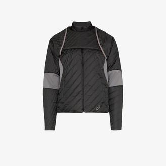 Asics X Kiko Kostadinov black Deconstructed Padded Jacket
