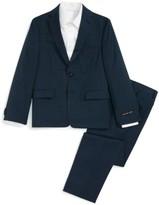 Michael Kors Boy's Mini Neat Wool Suit