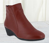 Spring Step Leather Ankle Boots - Kali