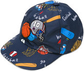 Dolce & Gabbana printed cap