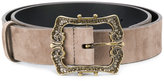 Jil Sander Navy decoratif buckled belt