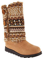 Muk Luks Andrea 4-in-1 Boot with Reversible Boot Sweater