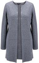MSSHE Women's Plus Size Long Sleeve Wool Cardigan Pullover Sweaters