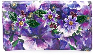 Dolce & Gabbana Dauphine floral-print clutch