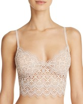 Only Hearts Italian Eco Lace Crop Cami Bralette