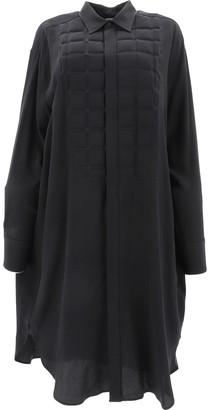 Bottega Veneta Padded Front Shirt Dress