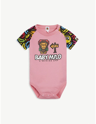 A Bathing Ape Banana pool cotton bodysuit 6-18 months