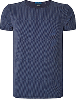 Scotch & Soda Printed T-shirt, Blue