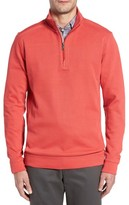 Cutter & Buck Men's Big & Tall Bayview Quarter Zip Pullover