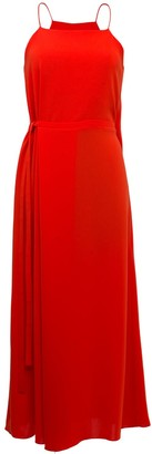Lake Studio Red Midi Dress