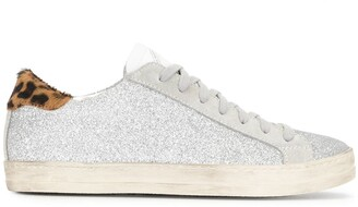 P448 Glittered Low-Top Sneakers