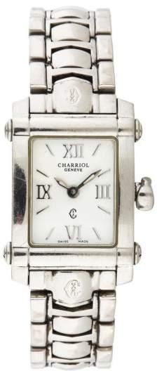 Charriol Columbus Stainless Steel 18mm Womens Watch