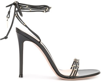Gianvito Rossi High Heel Ankle Strap Sandals