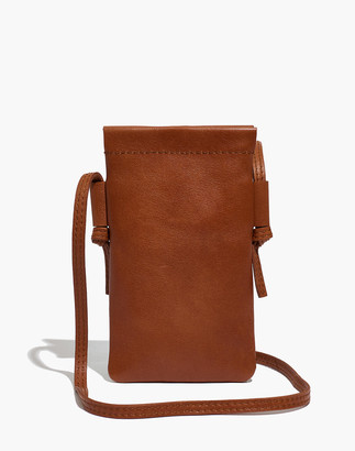 Madewell The Smartphone Crossbody Bag in Leather
